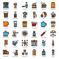 icona dell'attrezzatura del caffè