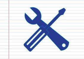 Icona strumenti Simbolo Segno