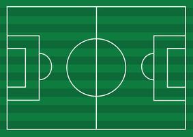 Campo di calcio o campo di erba strutturato calcio vettore