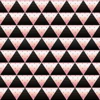 carta da parati a mosaico in oro rosa e nero vettore