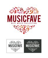 Logo Music Fave