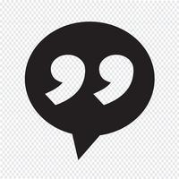 Finestra di dialogo icona simbolo segno vettore
