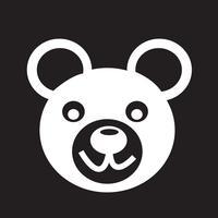 Orso icona simbolo segno