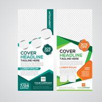 Design moderno per banner stampa roll up vettore