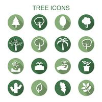 icone ombra lunga albero