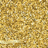 Trama glitter oro. Sfondo per il tuo design. Vettore