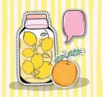 Succo disintossicante in barattolo di vetro