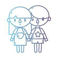 linea bambini insieme al design acconciatura