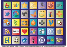 Loghi Web sociali