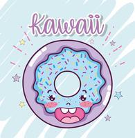 Simpatici cartoni kawaii vettore