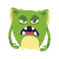 avatar di personaggio comico mostro divertente