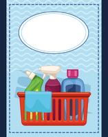 cartone animato di pulizia delle pulizie