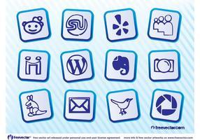 icon pack di social media