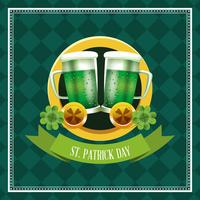 Felice giorno di San Patrizio vettore