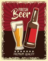 poster di drink vintage