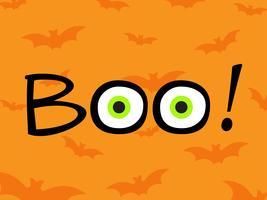 Fondo felice del modello di progettazione del manifesto di Halloween vettore