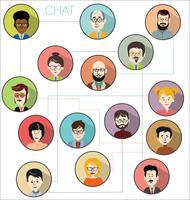 Infographic di progettazione moderna di concetto di affari di brainstorming
