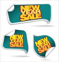 Sfondo di vendita di Capodanno vettore