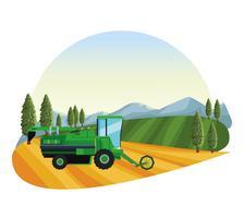 Trattore per semina agricola