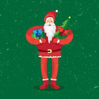 Natale Babbo Natale vettore