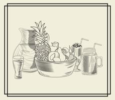 Bevanda frullato di frutta