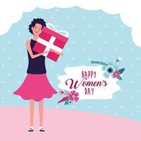 Carta del giorno delle donne felici