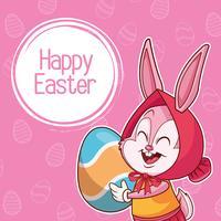 Buona Pasqua poster vettore