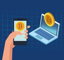 Tecnologia di criptovaluta bitcoin