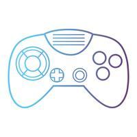 linea tecnologia di controllo videogioco elettronico