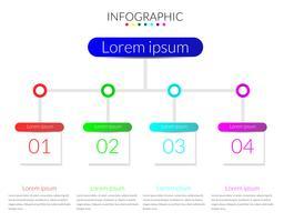 Infografica moderna vettoriale