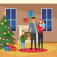 Buon Natale in famiglia