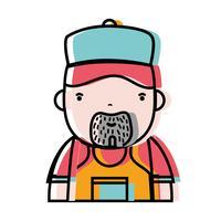 lavoro idraulico uomo per riparare la riparazione