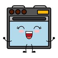 immagine dell'icona del forno vettore