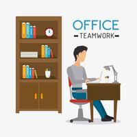 Ufficio commerciale e umano