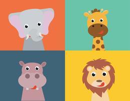 raccolta di animali vettoriali