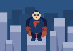 ragazzo grasso supereroe