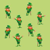impostare il personaggio comico leprechaun