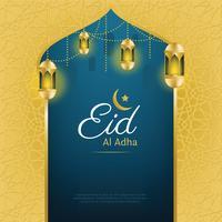 disegno vettoriale di eid al adha
