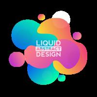 Forma del design del liquido liquido