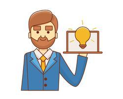 Idea Uomo d'affari