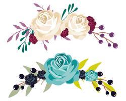 Bouquet di fiori vettore