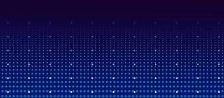 Spazio poligonale astratto basso poli sfondo scuro con punti e linee di collegamento vettore