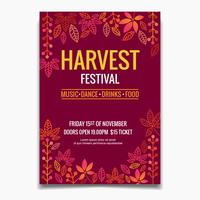 Flyer Festival del raccolto