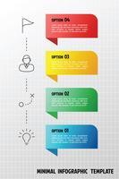 Modello di infografica verticale