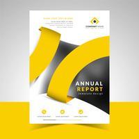 Modello di relazione annuale di business creativo