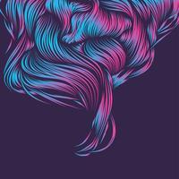 sfondo di forma viola