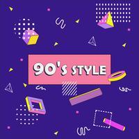 Sfondo astratto anni '90