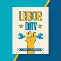 Modello Poster - Festa del lavoro