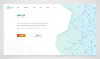 Modello di sito Web moderno