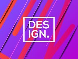 Modello di sfondo viola moderno gradiente astratto vettore